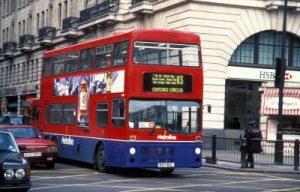Bus a due piani Londra