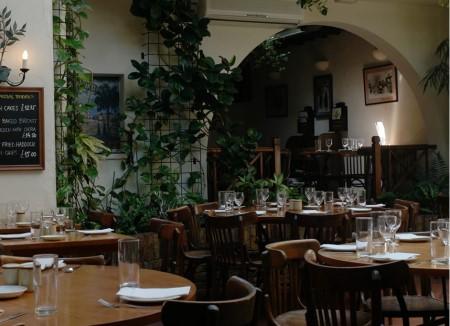 Lemonia, ristorante Londra