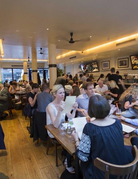 Moro, ristorante Londra