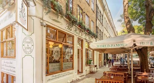 Rock and Sole Plaice, ristorante Londra
