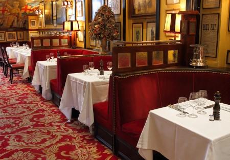 Rules, ristorante Londra